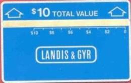 United States - SKU-10073, Pre Trial Test Card Cn:701C, 1987, 10 $ , Mint - United States
