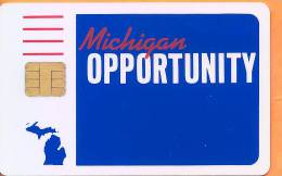 United States - Michigan Opporunity Card, Schlumberger Test Card - United States