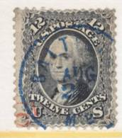 U.S.  69   (o)  Blue And Green Cds, BALTIMORE  Cd. - 1847-99 General Issues