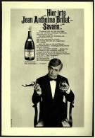 Reklame Werbeanzeige  ,  Remy Martin Cognac  -  Hier Irrte Jean Anthelme Brillat-Savarin  ,  Von 1968 - Andere Sammlungen