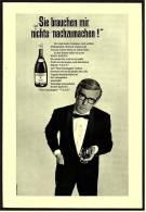 Reklame Werbeanzeige  ,  Remy Martin Cognac  -  Sie Brauchen Mir Nichts Nachzumachen  ,  Von 1968 - Andere Sammlungen