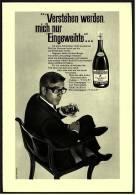 Reklame Werbeanzeige  ,  Remy Martin Cognac  -  Verstehen Werden Mich Nur Eingeweihte  ,  Von 1968 - Andere Sammlungen