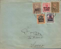"Romania - Env. Circulated In 1917, Censored, In Bucharest, Under German Occupation. (Society Anonyme ""Agricola"")-2/scans - Cartas De La Primera Guerra Mundial"