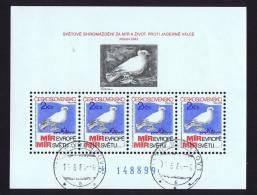 1983  Colombe De Picasso  MiNr Block 54  Oblitéré - Blocks & Sheetlets