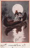 Dessin De Fred Spurgin- Canoe - Bial Bliss, 1913, Enfants - Spurgin, Fred