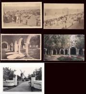 LOT N° 1 * BELGIQUE *KNOCKE  -LOT DE 5 CARTES  -toutes Scannées Recto Verso - 5 - 99 Postkaarten