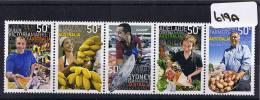 Australia 2007 Market Strip 5 Values MUH   619A - Mint Stamps