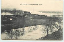 NANTES  - Vue Panoramique (gare Legé). - Gares - Avec Trains