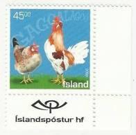 ISLAND ISLANDE ICELAND ISLANDIA MNH 2003 HEN - Iceland