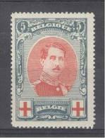 BELGIE - OBP Nr 132 - Rode Kruis - MH* - Cote 11,00 € - 1914-1915 Croix-Rouge