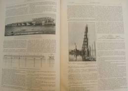 GENIE CIVIL 1933 N°01:SENEGAL PORT DE KAOLACK/FELDSPATH ST CHELY D'APCHER/KAOLIN BRETAGNE TREFLEVENEZ LANDELLE VAUBLANC - Newspapers