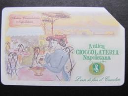 421 Ex 1919 GOLDEN EURO - ANTICA CIOCCOLATERIA NAPOLETANA - USATA PERFETTA QUALITA' FIOR DI STAMPA - G - Public Advertising