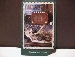 396 Ex 1894 GOLDEN EURO - 80 ANNI DI RADIO CGE - USATA PERFETTA QUALITA´ FIOR DI STAMPA - G - Public Advertising