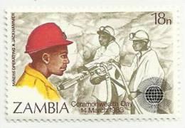 ZAMBIA 1983 MNH COMMONWEALTH DAY - Zambia (1965-...)