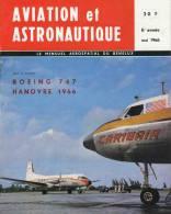 Magazine AVIATION Et ASTRONAUTIQUE - Mai 1966 -  BOEING - HANOVRE -      (3124) - Aviation