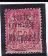 MADAGASCAR - YVERT N° 19 OBLITERE  - COTE = 70 EUROS - Madagascar (1889-1960)
