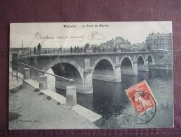 MAGENTA / LE PONT DE MARNE / BELLE CARTE ANIMEE / 1911 / FAUVELLE - Otros Municipios