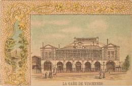 Chromos Réf. 940. La Gare De Vincennes - Chromos