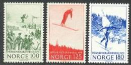 Norvège / Norwegen / Norway 1979 : Mi. 790/792 ** - Skispringen / Saut à Skis  . . L2718 - Nuovi