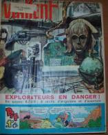 1963 Vaillant Le Journal Le Plus Captivant No 954-972,Album Relie, Bound Album,  Album Rilegato - Vaillant