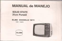 Libro De Instrucciones TV ELBE - Planes Técnicos