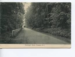 Ca 1910 Washington Street Princeton New Jersey, Publ. W.C. Sinclair, Princeton - Etats-Unis