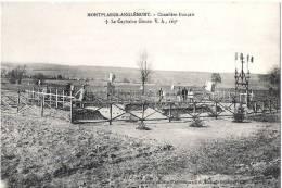 Z 1043 CP ANGLEMONT CIMETIERE FRANCAIS LE CAPITAINE GIRARD  V.A 163 éme - Autres Communes