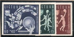 LITUANIE : TP N° 370/372 ** - Lituanie