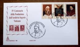 VATICANO 2012 -  FDC   IV CENTENARY SECRET ARCHIVE , ON CAPITOLIUM COVER - FDC