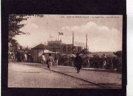 ROYAN PONTAILLAC 1930  COMMERCE LA JABOTIERE  CIRC NON EDIT LE GUIASTRENNEC SAUJON - Royan