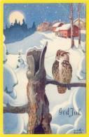 ★★ O - MÖLBACH. GOD JUL ★★ CHRISTMAS ARTIST PC! NORWAY, NORGE ★★ - Norvegia