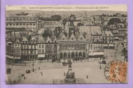 02 -  SAINT QUENTIN -  Avant Guerre - Panorama Pris Du Beffroi - Oblitérée En 1928 - Saint Quentin