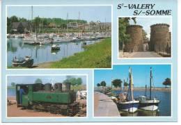 St-Valery S/-Somme Multivue - Saint Valery Sur Somme