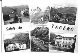 SALUTI DA TACENO (LC) - VEDUTINE - F/G - V: 1962 - Lecco