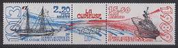 T.A.A.F. // F.S.A.T. 1989 - Navire La Curieuse - 2v Neufs // Mnh Sheet - French Southern And Antarctic Territories (TAAF)