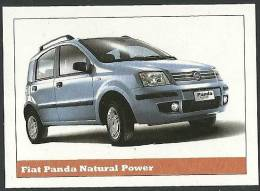 Fiat Panda Natural Power Sticker - Size:15x10 Cm. Aprox. - Collection Of  Cars (240 Differents) - Stickers