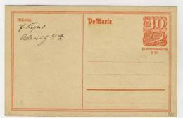 Deutsches Reich Ganzsache P 141 I ungebraucht