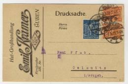 Deutsches Reich Infla Karte