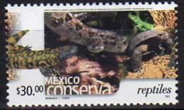 Mexique. Reptiles. Mexico Conserva. 1 T-p **  Haute Faciale, Quantite Limitee - Mexique