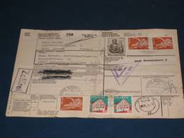 Schweiz Swiss Switzerland Paket Karte Paketkarte 1974 17,00 Fr. Zürich - Elsterberg DDR Suisse Svizzera Zoll - Schweiz