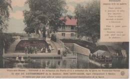 VAUX SUR SEINE ( Carte Publicitaire Lotissement ) - Vaux De Cernay