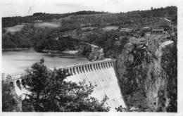 Cpa CHAUDESAIGUES, Lac De Sarrans, Barrage De La Truyère (12.20) - France