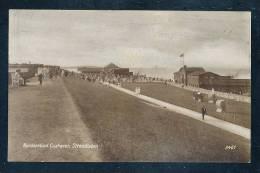 Deutschland Braun Weiße Foto Ansichtskarte Cuxhaven Nordseebad Strandleben Nicht Gelaufen Ca. 1910 Marke Abgefallen - Cuxhaven