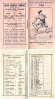 AB32 - CALENDARIETTO 1919 - SEGRETARIATO REGIONALE PIEMONTESE BUONA STAMPA TORINO - 20 Pagine - Calendari