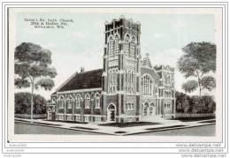 MILWAUKEE - Saron's Ev. Luth. Church, 29th & Hadley Sts - Milwaukee