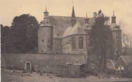 BR55851 Le Chateau Et La Chapelle Vus Du Berceau  Vieux Chateau D Ecaussines Lalaing    2 Scans - Ecaussinnes