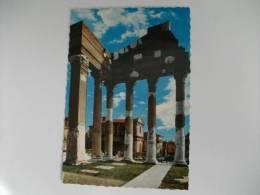 Brescia Capitolium (73 D.C.) Colonnato Del Pronao Timbro Celebr. 50° Ann. Circolo Filat. Numismatico Brescia C.p. - Brescia