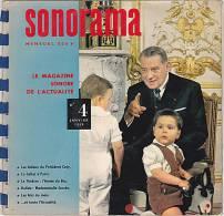 33 Tours - SONORAMA - N° 4 - Janvier 1959 - Les Adieux Du Président Coty - La GALLAS - DALIDA - Limited Editions