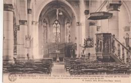 BR56006 Saint Chislain Interieur De L Eglise    2 Scans - Saint-Ghislain