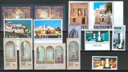 Malta 1980 Lot Of  14 Stamps  MNH** - Malte